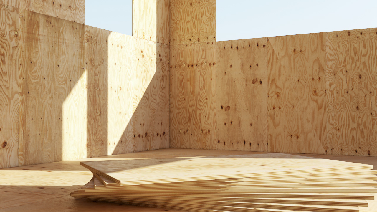 Plywood panels vizpark for Plywood wall sheathing