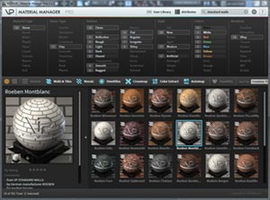 Standard Walls presets 3Ds Max