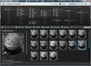 Stone Floors presets 3Ds Max
