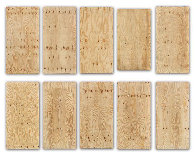Plywood all 10 panel textures (diffuse)