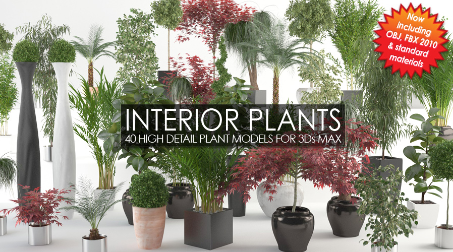 Commercial plants library for Corona - 3ds max ?