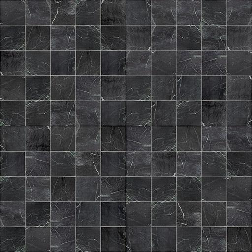 black marble floor