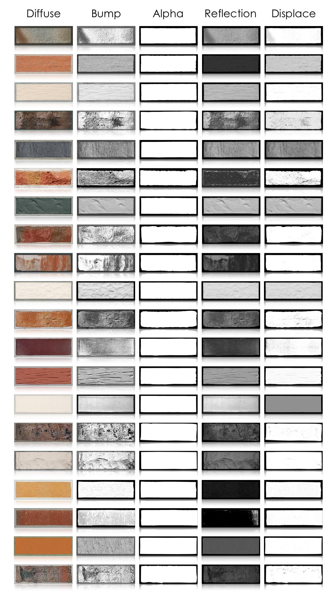 Single brick layers