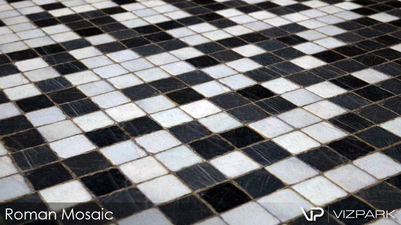 Roman Mosaic (close)