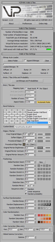 Walls & Tiles v1.2 GUI