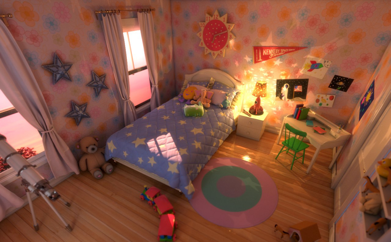 Vicki´s Wish - Her bedroom