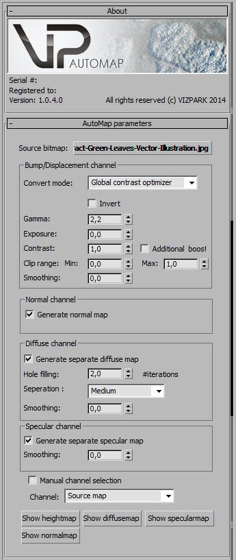 Automap GUI