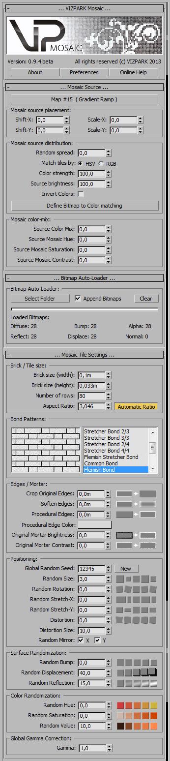 Mosaic 0.9.4 beta user interface