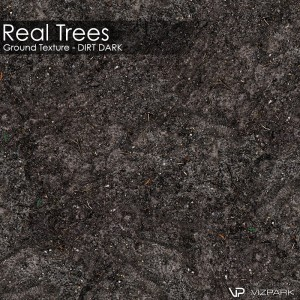 Real Trees Ground Texture - Dirt Dark