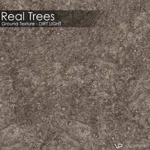 Real Trees Ground Texture - Dirt Light