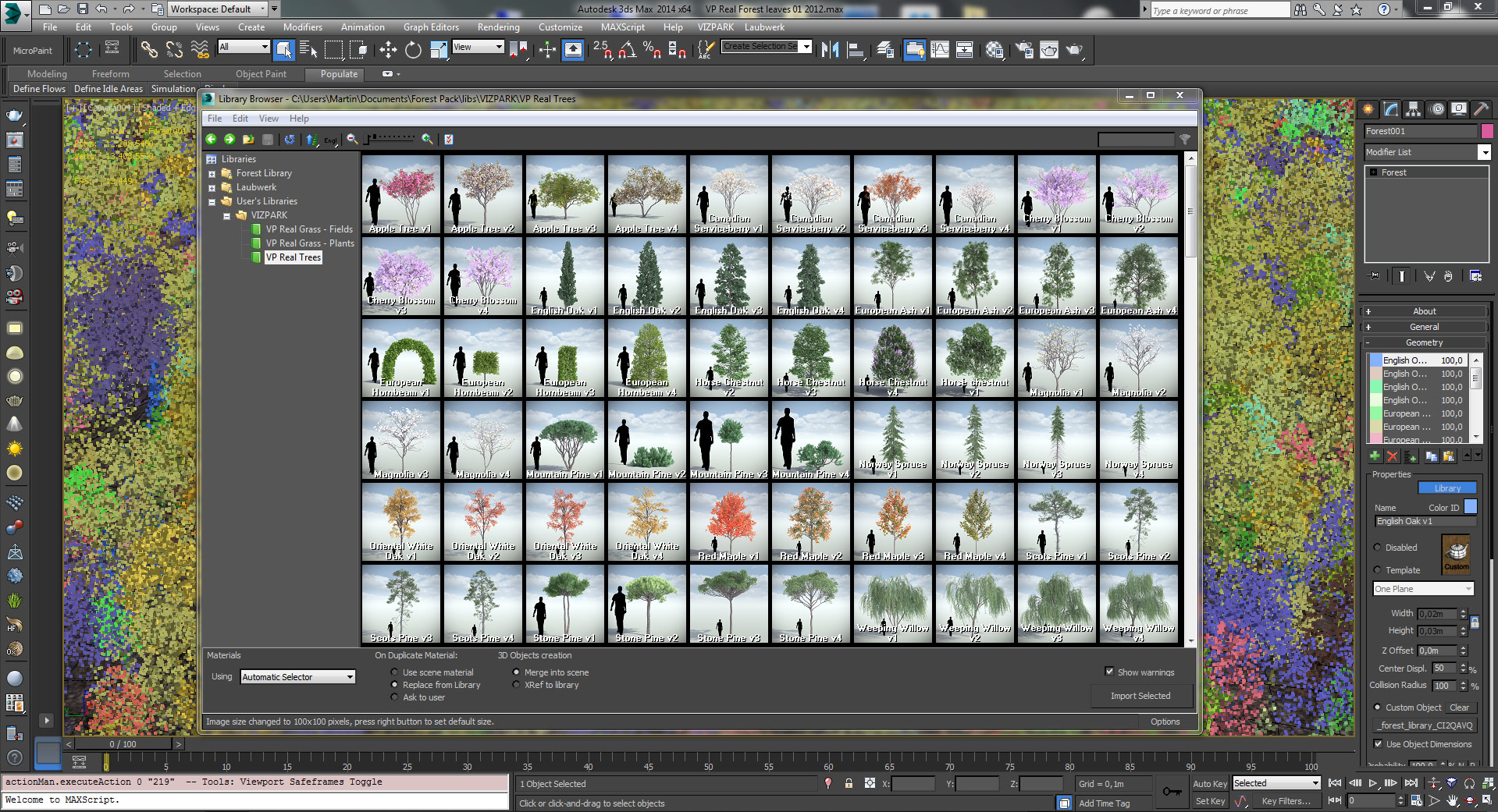 Forest Pack Pro by iToosoft - The world's most popular scattering plugin