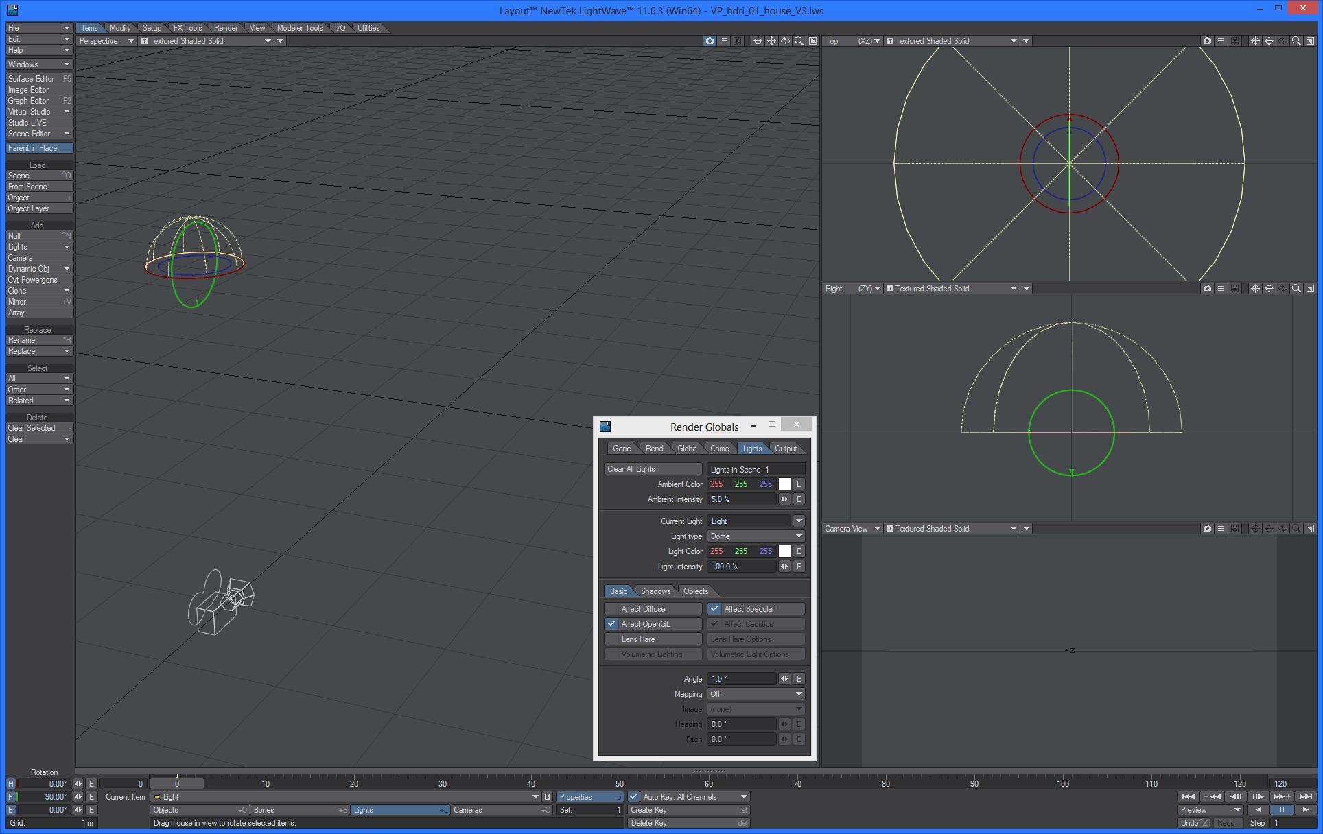 hdri lighting with lightwave 3d rh vizpark com Lightwave 3D Logo LightWave 3D Sanrio