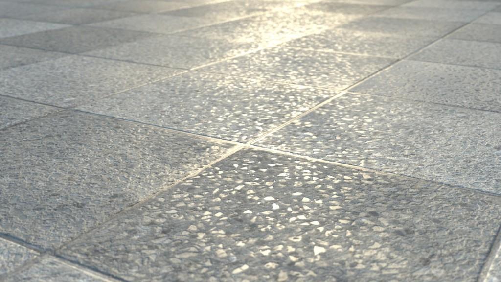 Sidewalk texture map