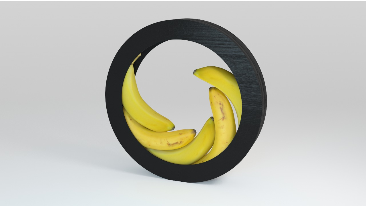VP Bananas circular bowl