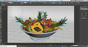 Real Fruits - 3Ds Max
