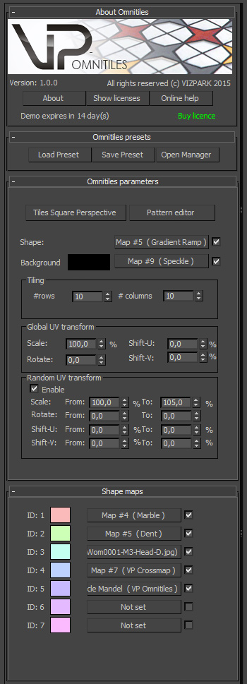 Omnitiles v1.0 GUI