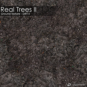 Real Trees Ground Texture - Dirt Dark